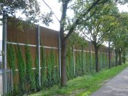 Greenscreen acoustic barrier